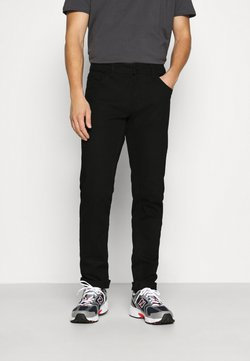 Redefined Rebel - NEW YORK - Slim fit -farkut - black denim