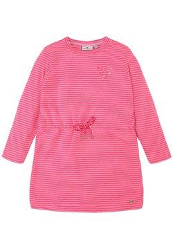 TOM TAILOR - Freizeitkleid - knockout pink pink