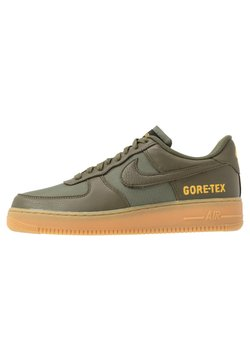 Nike Sportswear - AIR FORCE 1 GTX - Matalavartiset tennarit - med olive/sequoia/gold/black/off noir