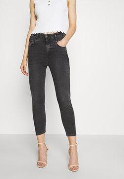 Diesel - D-FAYZA-NE JOGGJEANS - Jeans Skinny Fit - dark grey