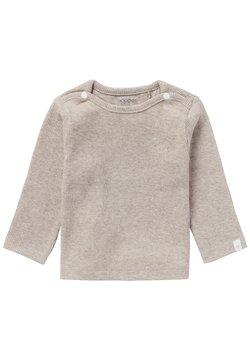 Noppies - BABY TEE NATAL UNISEX - Camiseta de manga larga - taupe melange
