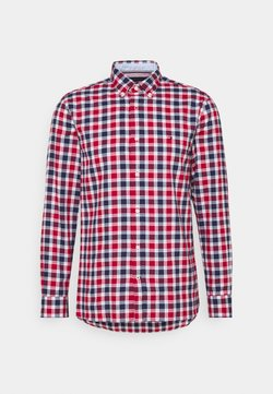 Tommy Hilfiger - TRAVEL OXFORD CHECK - Chemise - primary red/yale navy/multi