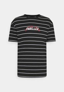 PARELLEX - STRIPE TEE - T-Shirt print - black
