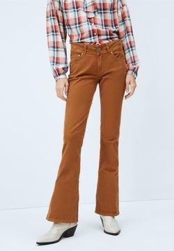 Pepe Jeans - NEW PIMLICO - Jeans bootcut - golden ocker