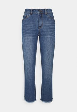 Kaffe - NICOLE CROPPED - Relaxed fit jeans - blue washed denim