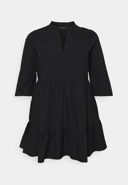 ONLY Carmakoma - CARCORINNE TUNIC DRESS - Freizeitkleid - black