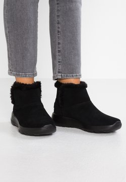 Skechers - ON THE GO JOY - Boots à talons - black