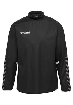 Hummel - HMLAUTHENTIC - Windbreaker - black/white