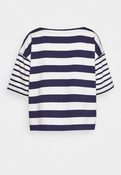 GAP - MARINER TEE - T-Shirt print - dark blue