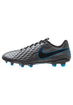 Nike Performance - TIEMPO LEGEND 8 ACADEMY MG - Fotbollsskor fasta dobbar - black/blue hero