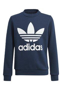 adidas Originals - TREFOIL CREW SWEATSHIRT - Felpa - blue