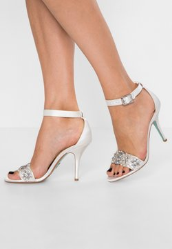 Blue by Betsey Johnson - GINA - Sandalias de tacón - ivory