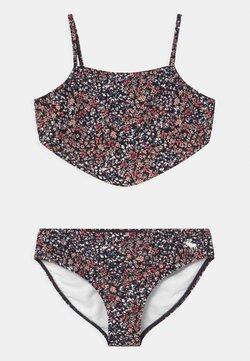 Abercrombie & Fitch - DOUBLE KNOT FRONT SET - Bikini - navy
