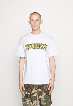 Hoodrich - DRIP - T-shirt print - white/yellow