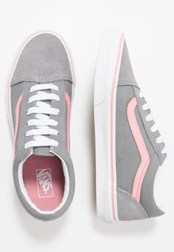 Vans - OLD SKOOL - Zapatillas - frost gray/pink icing