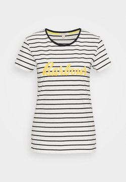Barbour - BARBOUR KEILDER TEE - T-Shirt print - cloud/navy