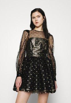 Fashion Union - COU - Cocktail dress / Party dress - black/gold