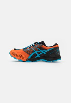 ASICS - GEL FUJITRABUCO SKY - Zapatillas de trail running - marigold orange/digital aqua