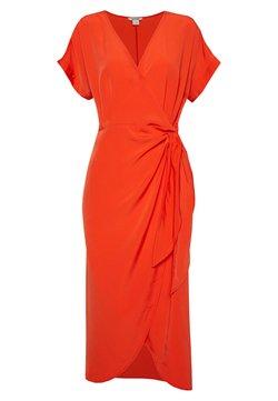Monki - ENLIE WRAP DRESS - Robe d'été - red