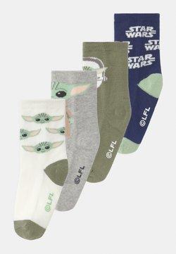 GAP - TODDLER BOY STAR WARS YODA MANDOLORIAN THE CHILD 4 PACK - Socken - multi-coloured