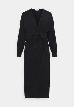 EDITED - LENA DRESS - Vestido de punto - schwarz