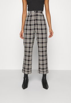 Fashion Union - VAMY TROUSER - Stoffhose - check