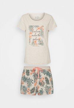 LASCANA - LAS PALMS SHORTY - Pyjama - sand
