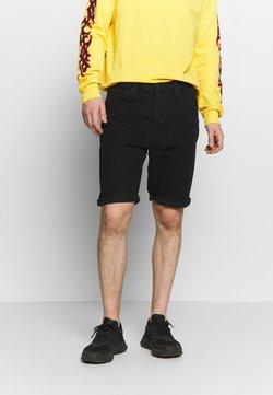Lee - REGULAR RIDER SHORT - Jeansshort - black rinse