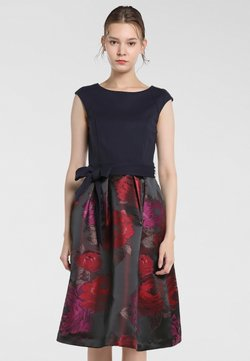 Apart - Cocktail dress / Party dress - bordeaux-multicolor