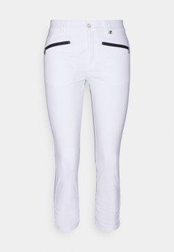 Golfino - THE SILVIA CAPRI  - Tights - optic white
