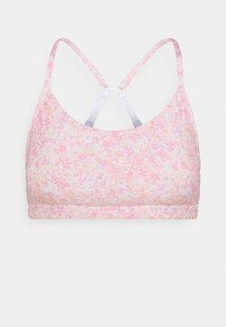 Cotton On Body - WORKOUT YOGA CROP - Sports bra - ditsy pink