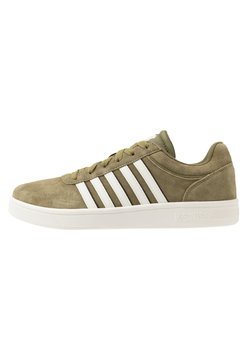 K-SWISS - COURT CHESWICK - Sneaker low - olive drab/black/snow white