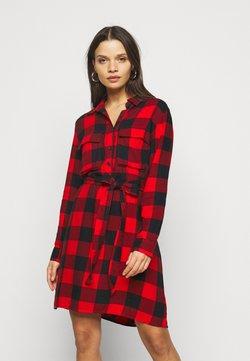 GAP Petite - UTILITY DRESS - Blusenkleid - red