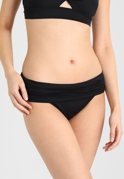 Lauren Ralph Lauren - WIDE SHIRRED BANDED HIPSTER - Bikini-Hose - black