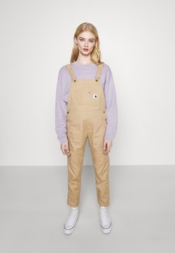Carhartt WIP - BIB  - Dungarees - dusty brown