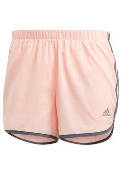 adidas Performance - Pantalón corto de deporte - koralle