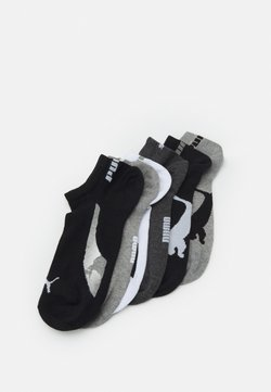 Puma - LIFESTYLE SNEAKERS 6 PACK UNISEX - Calcetines de deporte - black/white