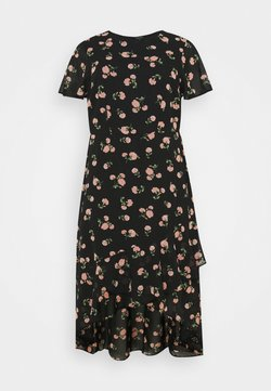 Dorothy Perkins Curve - DAISY PUFF SLEEVE SHIRT DRESS - Korte jurk - multi