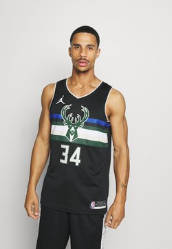 Nike Performance - NBA MILWAUKEE BUCKS GIANNIS ANTETOKOUNMPO SWINGMAN - Equipación de clubes - black