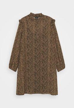 Vero Moda Curve - VMELINA SHORT DRESS - Vestito estivo - ivy green/multi