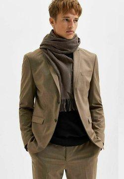 Selected Homme - SLIM FIT FALLENDES REVERS - Marynarka - camel