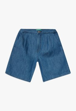 Benetton - BERMUDA - Jeansshort - blue denim