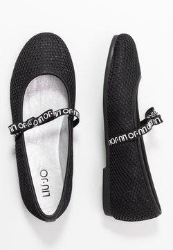 LIU JO - AUDRINE - Ankle strap ballet pumps - black