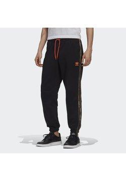 adidas Originals - CAMO JOGGERS - Jogginghose - black