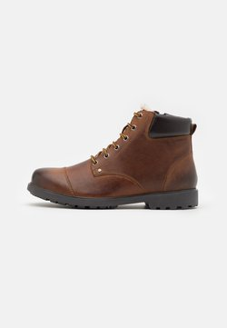 Geox - RHADALF - Lace-up ankle boots - browncotto