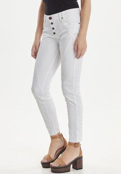 PULZ - PZROSITA - Jeans Skinny Fit - bright white