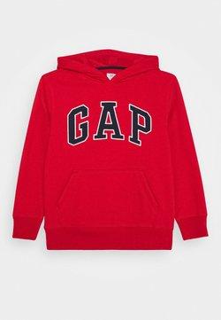 GAP - BOY CAMPUS LOGO HOOD - Bluza z kapturem - red wagon