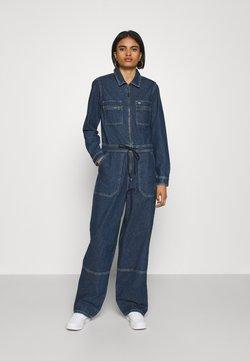 Tommy Jeans - ZIP BOILER SUIT - Haalari - blue