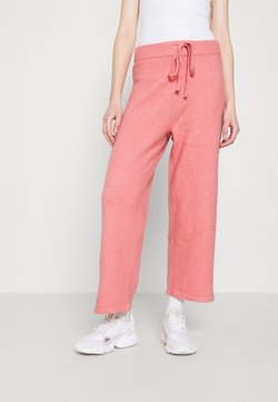 Monki - MAJA TROUSERS - Jogginghose - pink