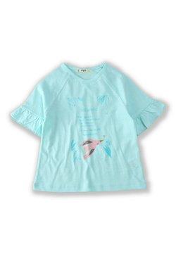Cigit - BIRD - T-shirt print - turquoise
